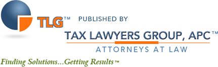 Los Angeles California Tax Attorney Blog